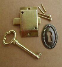 Cabinet Door Lock Set Key Curio Grandfather Clock China Jewlery New # 5