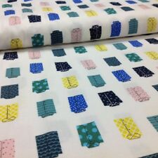 Cotton + Steel,  Men's Shirts on White Cotton, Quilting,  sold by the FULL Yard