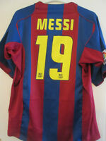Barcelona 2004-2005 Messi 19 Home Football Shirt Size Extra Large /35260