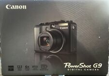 Canon PowerShot G9 12.1MP Black Excellent in Original Box + New LowePro Cam Bag