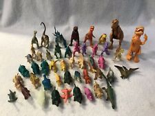 Pretend Play Animals Figures Preschool Daycare Toy Lot Of 47 Plastic Dinosaurs