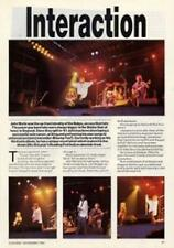 John Waite Babys UK 'Guitarist' Interview Clipping
