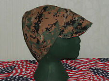 USMC Camouflage Woodland: Red's  American Made: Welding, Biker Hats $7.00 each