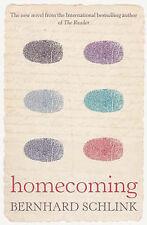 Homecoming, Bernhard Schlink, Very Good Book
