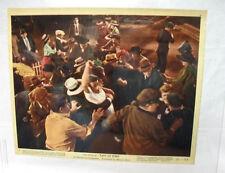 #1 original 1955 james dean US lobby card east of eden