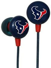 Houston Texans Hi-Fi Ear Buds [NEW] NFL Head Phones Headphones CDG