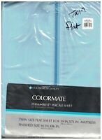 Colormate Perma-Prest Percale Twin Sheet Unopened Sears Roebuck