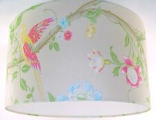 """30cm/12"""" Lampshade Handmade with Laura Ashley Summer Palace Linen Wallpaper"""