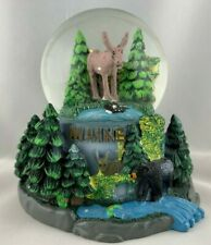 "Collectible Snow Globe - Maine Wilderness 4 x 4"""