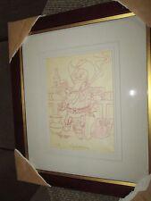 Carl Barks original pencil drawing Billy the Duckling 1978 Animal Quackers