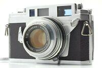 【Read】 Konica IIIA III A Rangefinder 35mm film camera Hexanon 48mm F2 Lens JAPAN