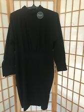 """CLOSET LONDON"" LADIES SIZE ""16"" BLACK DRESS BLOUSON ~ BRAND NEW WITH TAGS ~"