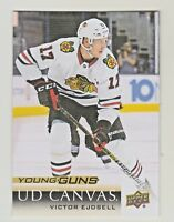 2018-19 Upper Deck Young Guns CANVAS #C116 VICTOR EJDSELL RC Rookie Blackhawks