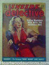 """""""Inside Detective"""" September 1942"""