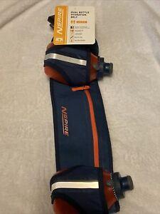 New Nspire by Nathan Dual Bottle Hydration Belt Blue/Orange