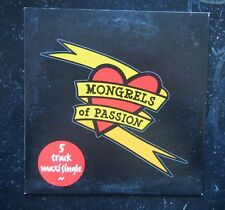 CD - Mongrels of Passion - 5 Track Maxi Single Limited Edition - 2007 Tim Gaze