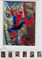 2017 Fleer Ultra Spider-Man Base Silver WEB Foil #1-100 Card Singles PICK Choose