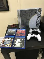 "PS4 Pro 1 TB ""God of War Limited Edition"" Console W/ 4 Games & 2 Controllers"