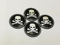 56mm Wheel Center Cap Decal Sticker Cap Emblem Raw & Bloody Bones Logo 5617