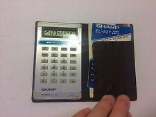 Sharp EL-827 Elsi-Mate 1981 Vintage LCD Musical Pocket Calculator