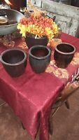 Set Of Three Small PA Antique Crocks
