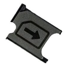 Micro Sim Card Tray Holder Slot Part For Sony Xperia Z1 L39H C6902 C6903 Black