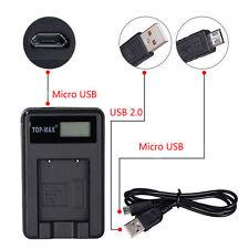 USB Battery Charger for Sony NP-FW50 Nex-5 Nex-5N Nex-C3 NEX-3 Alpha SLT-A35 A33