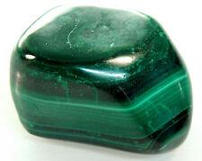 "Malachite Crystal Polished Stone Specimen Reiki Healing 86.7g 1.5"" (MAL9)"