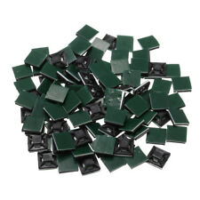 3a46f9ef80e5 100Pcs Square Self Adhesive Cable Tie Base Mounts Bases Sticky Socket  13x13x4mm