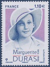 2014 FRANCE N°4850** Marguerite DURAS (Littérature) TB, MNH