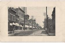 Horse & Buggy Downtown Traffic Business KANE PA Antique PM 1904 Postcard