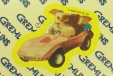 1984 Topps Gremlins Movie Complete Sticker Set: Gizmo Puzzle on Back