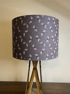 Purple Bees Honeycomb Handmade Lampshade (Gold, Silver, Copper)