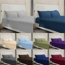 Egyptian Comfort 4pcs Bed Sheet Set Deep Pocket 1800 Count Wrinkle Free Bedding