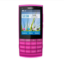 Nokia X Series X3-02 Touch and Type Pink (Unlocked) Cellular Phone Free Shipping