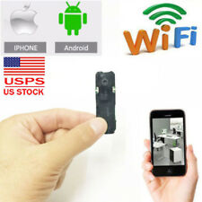 wireless mini spy IP WIFI network camera hidden P2P nanny smallest DVR recorder