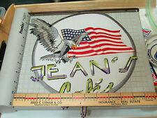 Jeans Cafe Jacket Patch (Bin2)