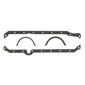Mr Gasket Engine Oil Pan Gasket Set 5885; Rubber-Coated Fiber for 86-92 Chevy V8