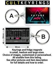 Future Retro keyring / fridge magnet -  FR777 Synth Zillion Swynx Orb Revolution