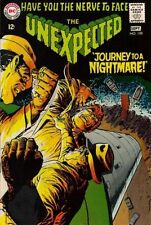 """UNEXPECTED #108 Fine, """"The Journey to a Nightmare"""" Sci-Fi, DC Comics 1968"""