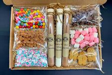 Luxury White & Milk Hot Chocolate Gift Box, Mothers Day, Hug in a Box, Birthday