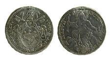 pcc1901) St Pontificio Pio VI (1775-1799), Mezzo scudo romano 1778  appiccagnolo