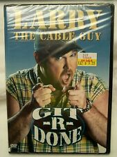 Larry The Cable Guy - Git-R-Done (DVD 2004) (SEALED) TOWER RECORDS COMEDY OOP