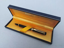 WATERMAN LE MAN 100 BLACK HARLEQUIN IDEAL BALLPOINT PEN VINTAGE IN BOX