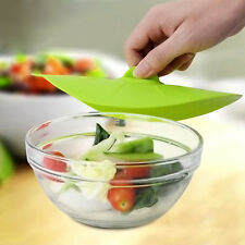 Green Microwave Splatter Covers Cooking Food Guard Screen Lid Reusable Cover New