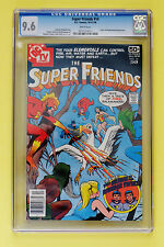 SUPER FRIENDS #14 CGC 9.6 - WHITE **ORIGIN OF THE WONDER TWINS** BRONZE AGE KEY!