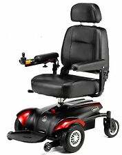 Merits P322 Vision CF Front Wheel Drive Power Chair, 300 lb Capacity, Compact