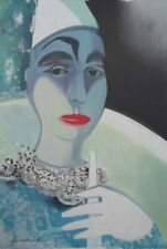 Camille HILAIRE : Pierrot, Clown Blanc - LITHOGRAPHIE SIGNEE  CIRQUE