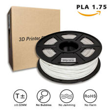 JETSUE 3D Premium Printer Filament PLA Material 1.75mm 1KG, White