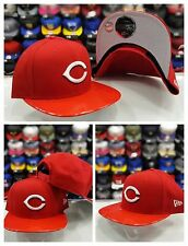 New Era MLB 950 Original Fit Cincinnati Reds Grey Patent Leather snapback Hat